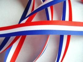 Holland sierband rood,wit & blauw 1cm