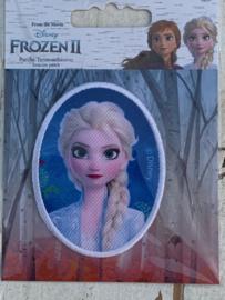 Frozen opstrijk applicatie ELSA ovaal