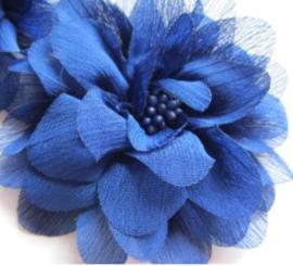 Bloem chiffon 11 cm royal blue