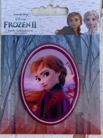 Frozen opstrijk applicatie ANNA ovaal