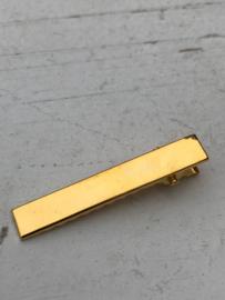Alligator knip goud 4,5cm