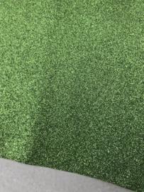 Glitter Leer lime  20x30 cm