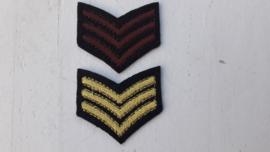Patches army embleem opstrijkbaar