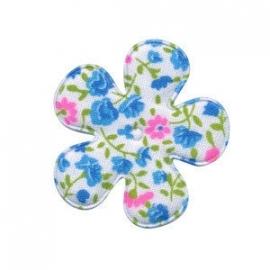 Bloemen bloem blauw 3.5cm
