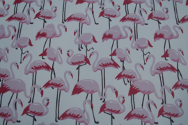 Flamingo leer off white