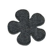 bloem jeans zwart 3,5 cm