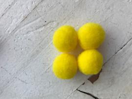 Pompom geel