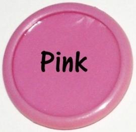 Plastic CAPS licht roze