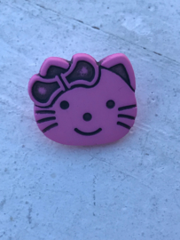knoop hello kitty roze
