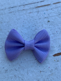 Vlinderstrikje lila 3cm