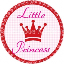 Flatback tekst Little Princess