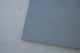 Leer structuur zilver