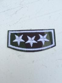 Patches leger 3 sterren opstrijkbaar