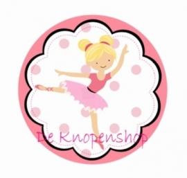Flatback Ballerina blond (K142)