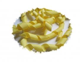 Krullen lint geel 7cm pst