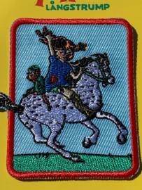 Opstrijk applicatie pippi op paard