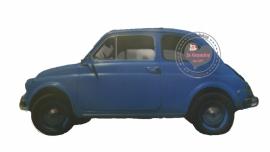 Blauwe fiat (full color)