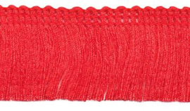 Franjeband rood 30 mm