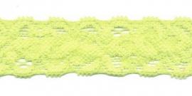 Elastisch kant geel 22 mm