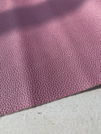 Leer parelmoer structuur oud roze stoer