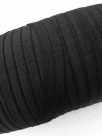 Elastisch biasband Zwart (haarband) 1.5 cm