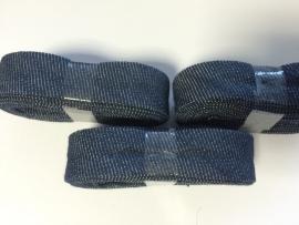Biasband jeans katoen 2 meter