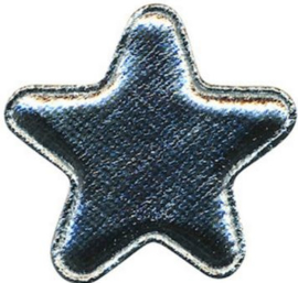 Ster zilver 4.5 cm