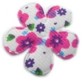 Bloemen bloem wit 3,5 cm