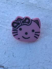 knoop hello kitty licht roze