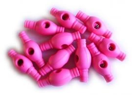 KS7b Koordstoppers fel roze 3cm