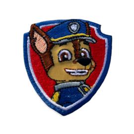 Paw patrol CHASE opstrijkbaar schild