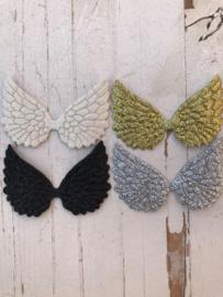 Vleugels glitter 6cm kies jou kleur (1)