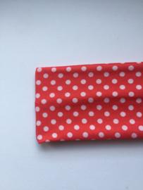 Haarband rood polkadot