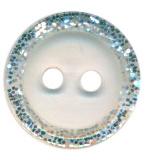 Knoop glitterrand transparant