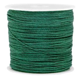 Macramé draad leger groen 0.8mm