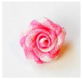Roosje ruit rose 1 cm
