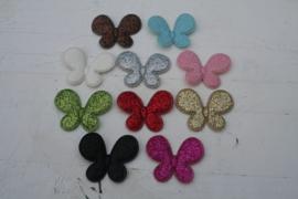 Vlinders glitter