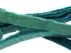 Vacht  leer 8mm Aqua/mint