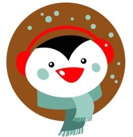flatback & button pinguin