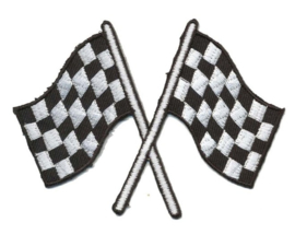 applicatie finish vlaggen