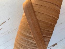 Elastisch biasband  koper gold (haarband) 1,5cm