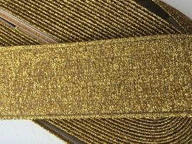 Elastische  (taille) band  goud