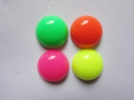 Flatback Bol neon 12 mm