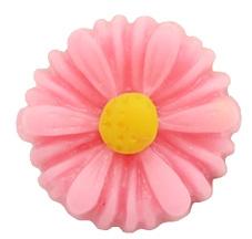 Kraal bloem roze/geel
