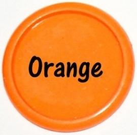 Plastic CAPS oranje