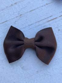Vlinderstrik bruin 5cm