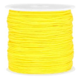 Macramé draad geel 0.8mm