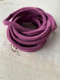 Haarbandje nylon aubergine