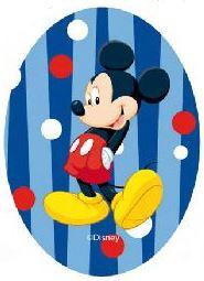 Mickey Mouse applicaties opstrijkbaar  Streep