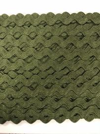 Zigzagband legergroen 5mm